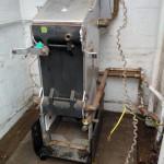 Cast iron 'G' Rated Open Flue original boiler