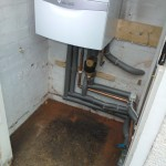 Insulated and supported pipework